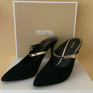 Michael Kors Womens Tiegan Pointed Toe Mules